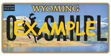 HO 1:87 MONSTER LICENSE PLATES 2000+ WYOMING WY-2018 VEHICLE CARS TRUCKS WSP
