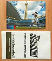 Bo Bichette ✨ 2020 Topps Stadium Club Rookie Card Oversized Boxloader RC #OBBB