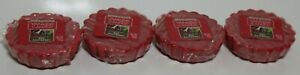 New 4 Yankee Candle Wax Tarts Bubbly Red Raspberry 0.8 Oz