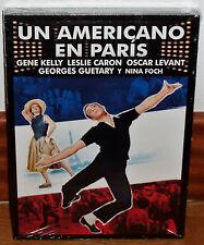 UN AMERICANO EN PARIS DVD SLIPCOVER NUEVO PRECINTADO CINE CLASICO (SIN ABRIR)