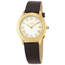Fendi Classico Dial Ladies Leather Watch F250434011