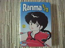 COMIC MANGA RANMA 1/2 RUMIKO TAKAHASHI VOLUMÉN 2 EDICIONES GLENAT USADO