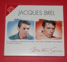 Jacques Brel - Master Serie - Vol. 1 + 2  -- 2er-CD / Chanson