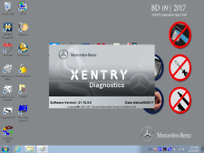 MB star SD C4 the Xentry 09 /2017 software  HDD for  update SD C4 or C5  star