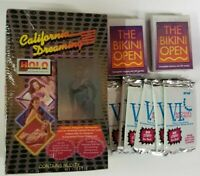 California Dreaming Trading Card Box with Venus and The Bikini Open packs Mature