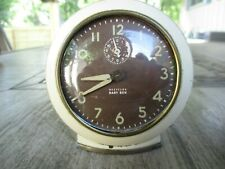 Vintage Westclox Baby Ben Alarm Clock 61-V Works 1950's