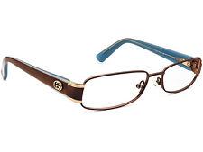 Gucci Eyeglasses GG 2869 YAW Brown/Blue Rectangular Frame Italy 54[]15 135