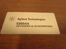 Advanced IA-32 Interposer E8054A