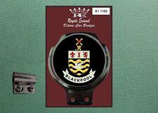 Royale Classic Car Badge & Bar Clip BLACKPOOL TOWN Mecca Mod B1.1188