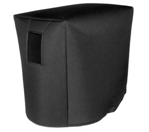 """Byron 1x15 Cabinet Cover - 1/2"""" Padding, Black, Made in USA by Tuki (brro002p)"""