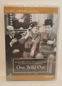 One Wild Oat (1951) DVD Stanley Holloway Audrey Hepburn, SEALED. UK R2 DVD