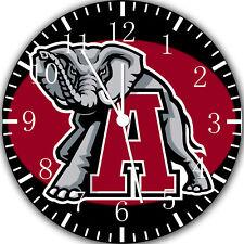Alabama Crimson Tide Frameless Borderless Wall Clock Nice For Gifts or Decor X53
