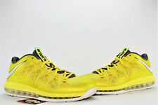 e1dacfe0d333 Nike Air Max LeBron X Low Sonic Yellow Grey Size 10 2013  579765 700