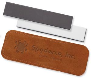 SPYDERCO Double Stuff Medium & Fine Grit 2-Sided Ceramic Sharpening Stone 303MF