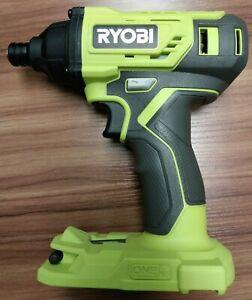 "Ryobi 1/4"" Impact Driver P235- Tool Only- Includes Bit- New, Unused- No Box"