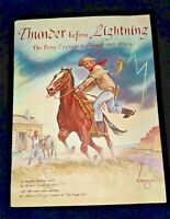 1961 Thunder Before Lightning by Robbins & 100 Stamps art by Alberto Vargas