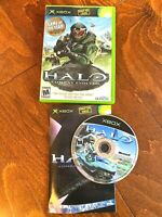 Halo: Combat Evolved (Microsoft Xbox, 2001) TESTED Complete CIB shooter