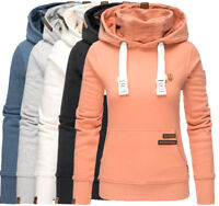 Navahoo Damen Sweatshirt Hoodie Pullover Pulli Sweater Kapuze Kapuzenpullover
