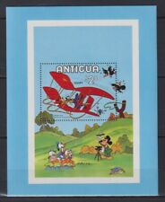 Y805. Antigua - MNH - Cartoons - Disney's - Goofy - Airplanes