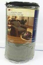 Innovative Textile Solutions Plush Ultimate Chair Protector Slipcover Olive Gren