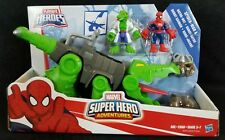 PLAYSKOOL HEROES - Marvel Super Hero Adventures - Spider-Man & Gator-Bot - NEW