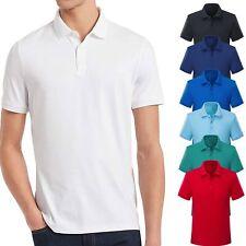 Polo Uomo Manica Corta T-shirt con Colletto Basic Mezza Manica