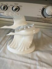 "Royal Doulton Images Hand Made ""Going Home"" Geese In Flight - Hn3527 - very nic"