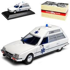 CITROEN CX Heuliez Ambulance AMBULANZA BIANCO 1/43 Atlas modello auto con o
