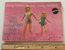New listing 60's/70's Barbie & Living Skipper Mattel Catalog 17pp Of Dolls