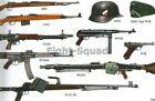 WW2 Picture Photo German Guns 98K G43 MP40 FG42 STG44 P08 MG42 FG42 PZB39 3303