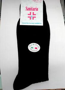 6 Pairs Of Socks Man Dac Long Health IN Lisle Thread Comfort Art. Healthy Dac