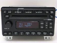 03 04 05 LINCOLN Aviator OEM SOUND MARK Radio 6 Disc Changer MP3 CD Player UNIT