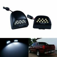 Canbus LED License Plate Light For Chevrolet Chevy Avalanche Silverado Suburban