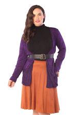 Herbst Damen-Pullover & -Strickware in Übergröße mit Knöpfen