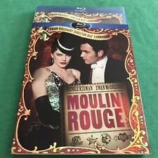 Moulin Rouge w/ Oop Slipcover (Blu-ray Disc, 2010) New / Sealed