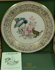 Lenox Limited Edition 1980 Black -Throated Blue Warblers Collector Plate