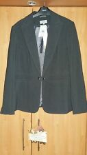 L@@K NWT M&S SIZE 20 CHARCOAL SUIT TYPE DRESSY JACKET WITH 2 WAY STRETCH