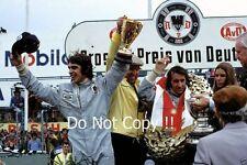 Francois Cevert Tyrell Podium Portrait German Grand Prix 1971 Photograph
