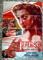 FRINE - SKLAVIN DER LIEBE * A1-Filmposter - German 1-Sheet 1956