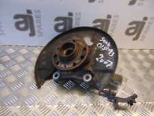 SAAB 9-3 VECTOR SPORT 1.9 TID 2007 DRIVERS SIDE FRONT HUB AND BEARING WITH ABS