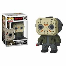 Genuino Viernes 13th ¡ POP! VINILO Acción 8-bit Jason Voorhees #23