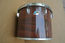 """70's/80's Ludwig USA 15"""" CONCERT TOM in MAHOGANY CORTEX for YOUR DRUM SET #C416"""