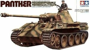 TAMIYA 35065 German Panther Med. Tank 1:35 Military Model Kit