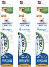 Nylabone Advanced Oral Care Natural Peanut Flavored Dog Toothpaste 2.5oz (3 Pck)