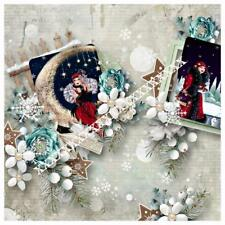 THE MAGIC OF CHRISTMAS GREETING CARD STYLE 4 GREETINGS, CARDS, PAPERCRAFT, CARDS