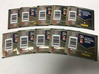 10X PANINI ALBUM STICKER FIFA WORLD CUP RUSSIA 2018 10 PACKETS = 50 STICKERS