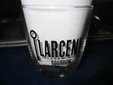 LARCENY BOURBON Logo Rocks Glass Kentucky
