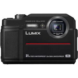 Panasonic Lumix DC-FT7  wasserdichte Digitalkamera FT 7 Neuware schwarz + 16GB