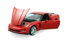 "Welly 2007 Chevy Corvette Z06 diecast 1:24 scale 7.5"" model car Red W116"