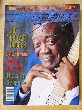 LIVING BLUES MAGAZINE #140 (1998) Joe Hughes Houston Blues Conrad Johnson Zydeco